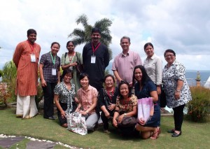 Faculty from institutions in India, Indonesia, and the Philippines exchanged ideas and expertise on environment and health.