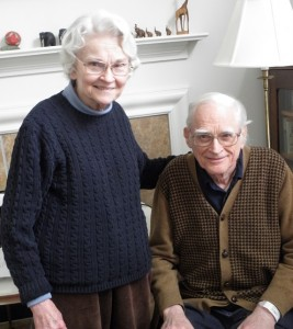 Louise Woodruff and her husband, Rev. Laurence Woodruff.