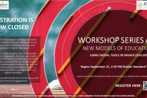 Workshop Series A: New Models of Education